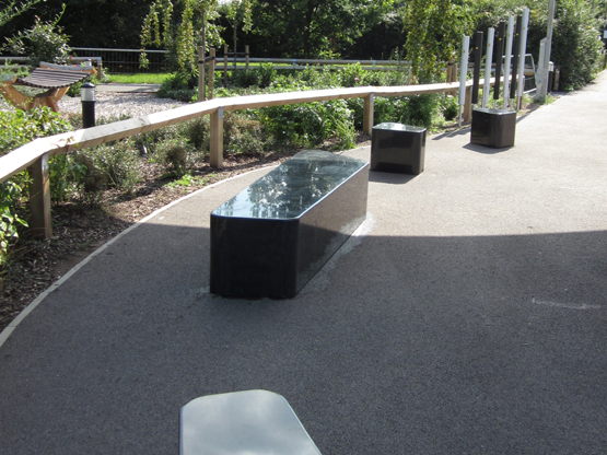 Hazy Maze Granite Seating
