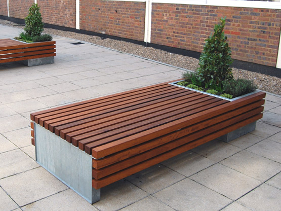 Matchbox Planter Bench