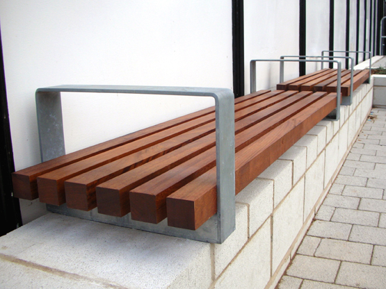 Wall-Mounted Essentials Bench