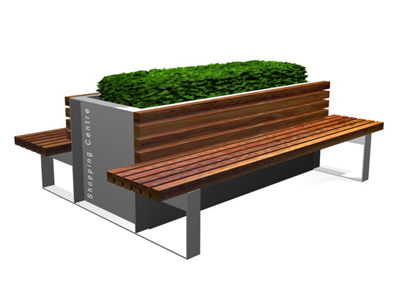 Wideboy Planter Seat