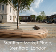 Brentford Market Place, Brentford, London