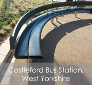 Castleford Bus Station, West Yorkshire