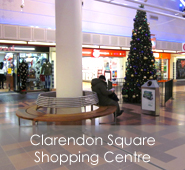 Clarendon Square Shopping Centre, Hyde, Cheshire