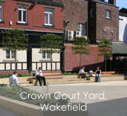 Crown Court Yard, Wakefield