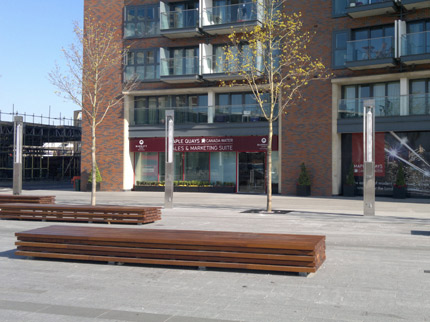 Maple Quays Benches