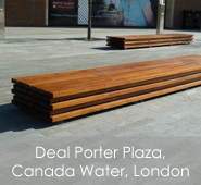 Deal Porter Plaza, Canada Water, London