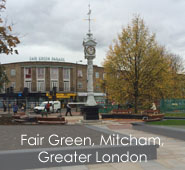 Fair Green, Mitcham, Greater London