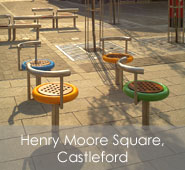 Henry Moore Square, Castleford
