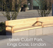 Lewis Cubitt Park & Square, Kings Cross, London