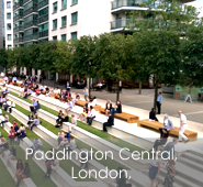 Paddington Central, London