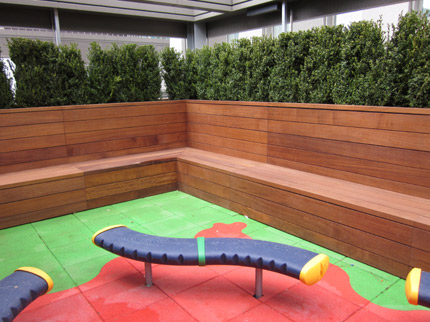 Bespoke Timber Cladding And Seating