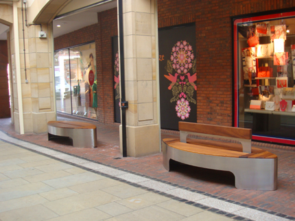Bespoke Petal Benches With & Without Backrest