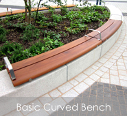 Basic Curved Bench