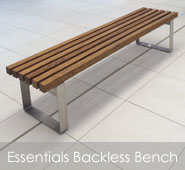 Essentials Backless Bench