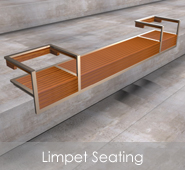 Limpet Wall-Mounted Seating